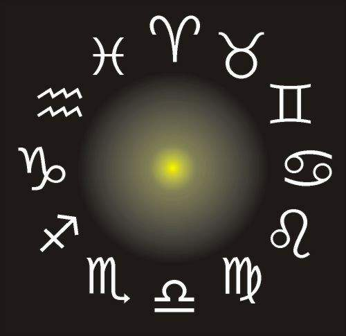 Klicken Sie auf ein Sternzeichen
